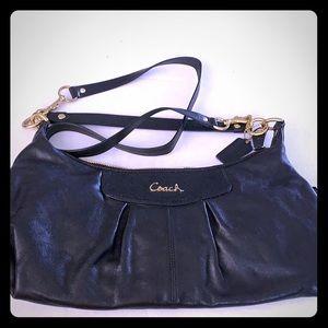 Vintage COACH ASHLEY Leather Hobo Sling Tote Bag